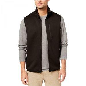 NWT 32 Degrees Full Zip Fleece Tech Vest Black XL